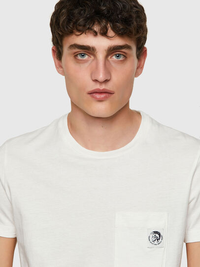 Diesel - T-WORKY-MOHI, Blanc - T-Shirts - Image 3
