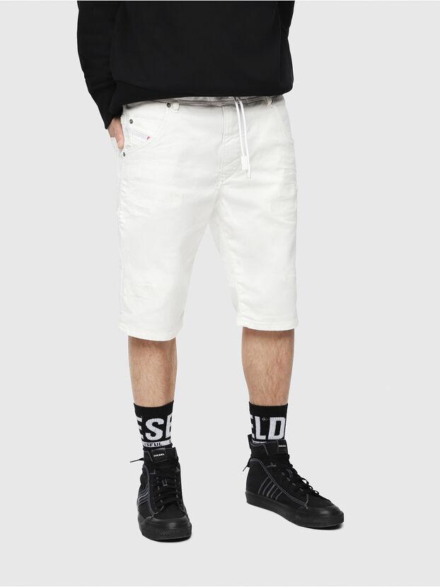 D-KROOSHORT JOGGJEANS, Blanc - Shorts