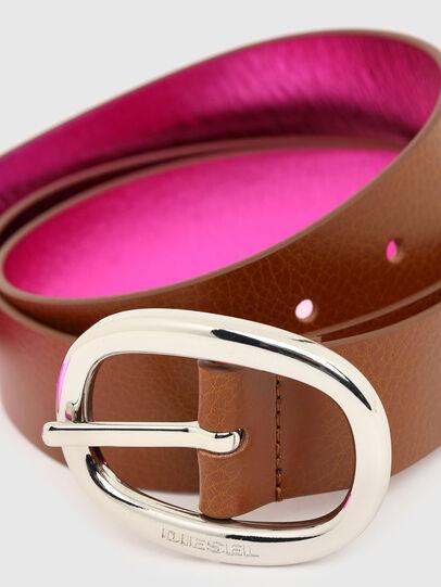 Diesel - B-ISIDE, Brown/Pink - Belts - Image 2