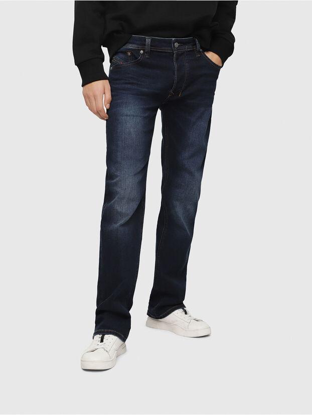 Larkee C84VG, Bleu Foncé - Jeans
