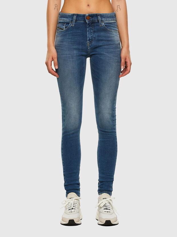 Slandy 084NM, Bleu moyen - Jeans