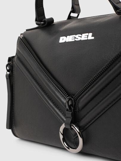 Diesel - LE-ZIPPER SATCHEL, Noir - Sacoches et Sacs à Main - Image 5