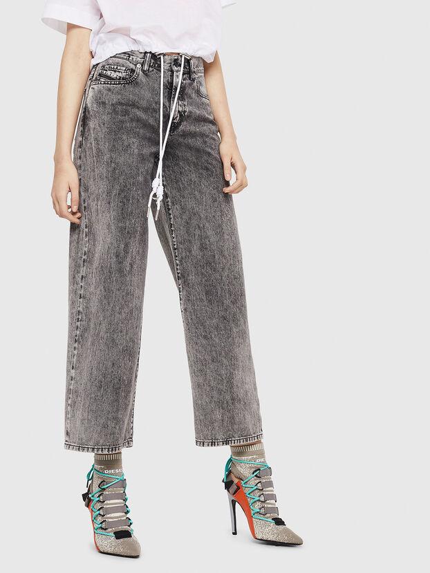 Widee 069EB, Noir/Gris - Jeans