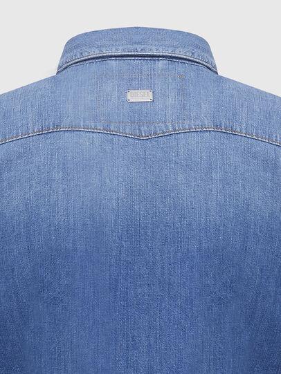Diesel - DE-RINGY, Bleu Clair - Chemises en Denim - Image 4