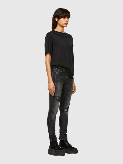 Diesel - D-Jevel 009JN, Black/Dark Grey - Jeans - Image 7
