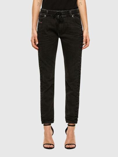 Diesel - Krailey JoggJeans 009FY, Noir/Gris foncé - Jeans - Image 1