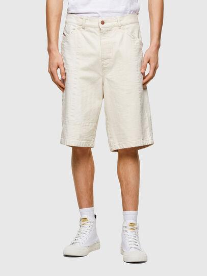 Diesel - D-FRANS-SP1, Blanc - Shorts - Image 1