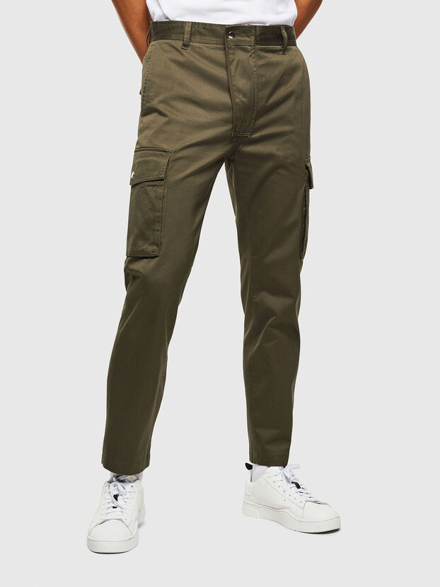P-JARED-CARGO, Green - Pants