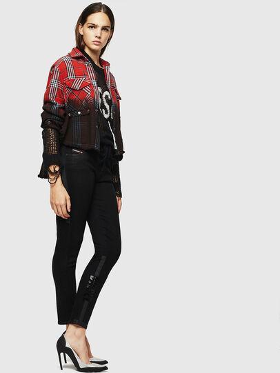 Diesel - Babhila 0092T, Black/Dark Grey - Jeans - Image 6