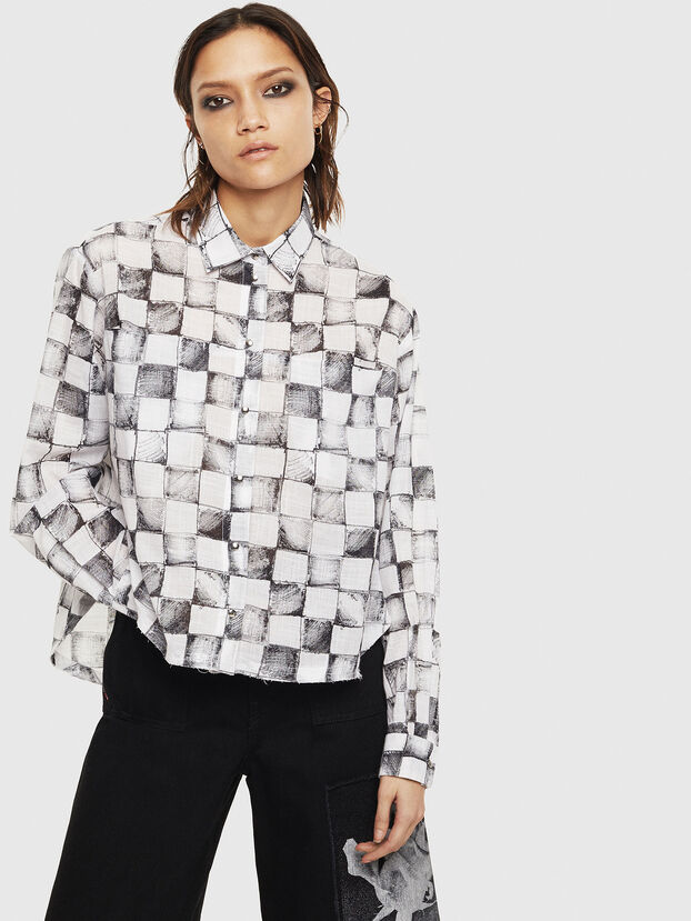 C-SUNNY, Blanc - Chemises