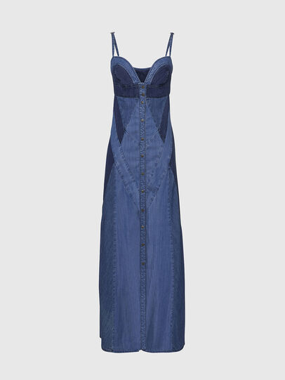 Diesel - DE-ARYNA, Bleu Clair - Robes - Image 1