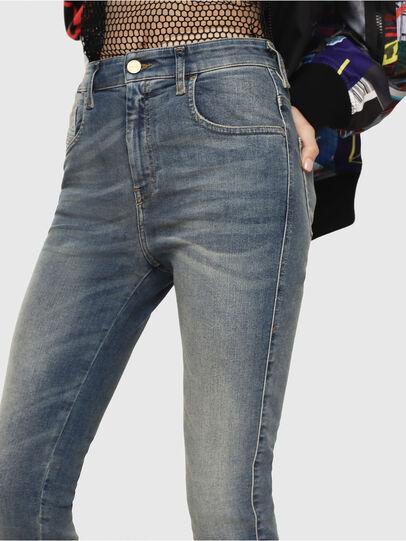 Diesel - Slandy High 085AZ, Bleu moyen - Jeans - Image 3