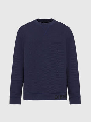 S-PEWTER, Bleu - Pull Cotton