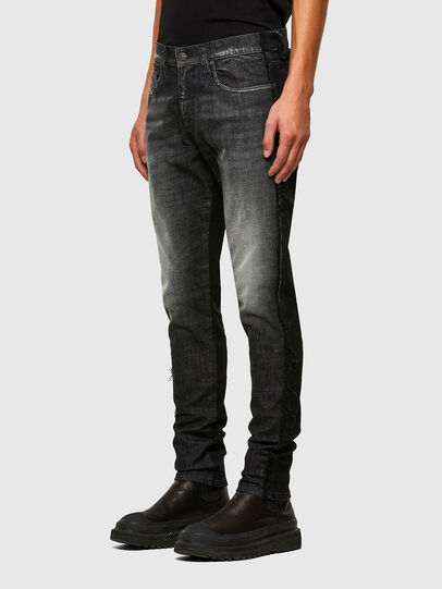 Diesel - D-Strukt 009HY, Noir/Gris foncé - Jeans - Image 6
