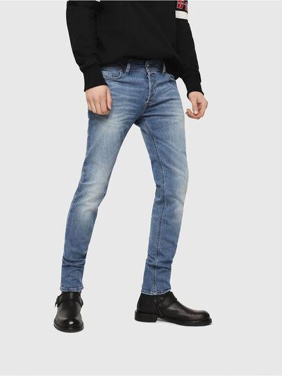 Diesel - Sleenker CN018, Bleu moyen - Jeans - Image 1
