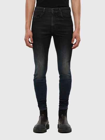Diesel - D-Amny 069QM, Bleu Foncé - Jeans - Image 1