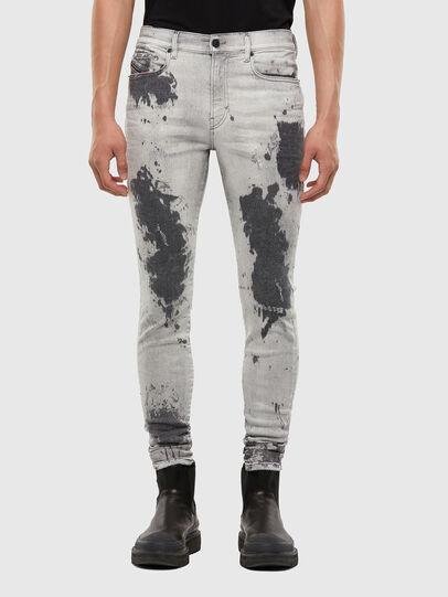 Diesel - D-Amny 009GM, Gris Clair - Jeans - Image 1