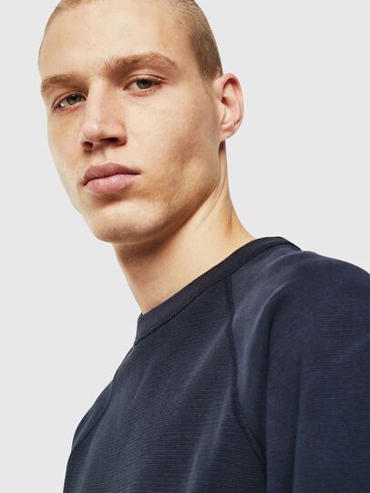 Diesel - S-KOBLER, Dark Blue - Sweatshirts - Image 4