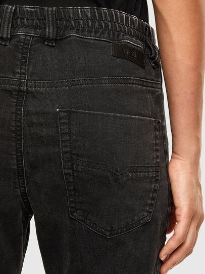 Diesel - Krailey JoggJeans 009FY, Noir/Gris foncé - Jeans - Image 4