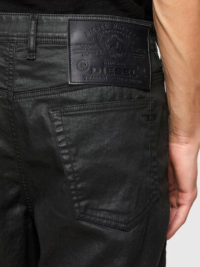 Diesel - D-WILLOH-X-SP JOGGJEANS, Noir - Shorts - Image 4
