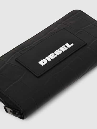 Diesel - 24 ZIP, Noir - Portefeuilles Zippés - Image 3