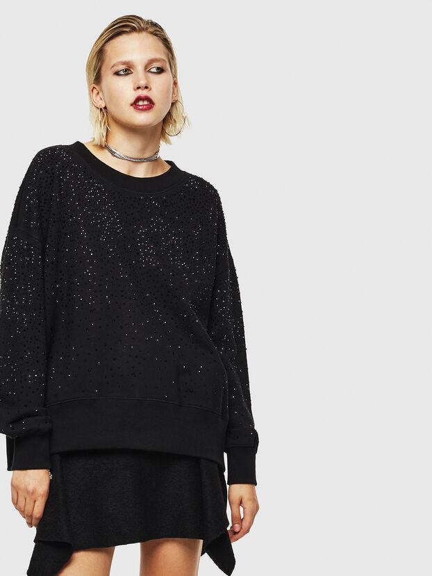 F-MAGDA-D, Black - Sweatshirts