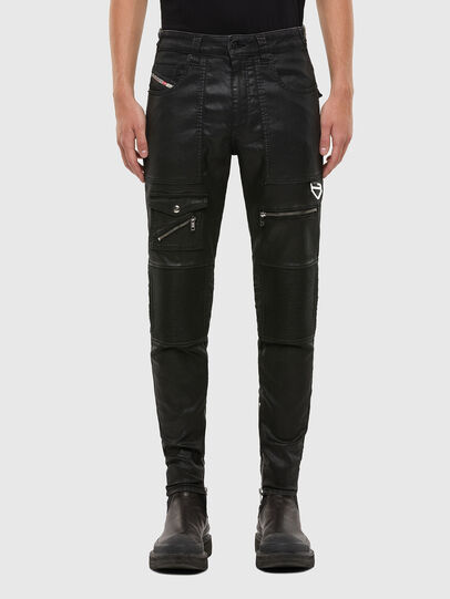 Diesel - D-Derrot JoggJeans 069QY, Black/Dark Grey - Jeans - Image 1