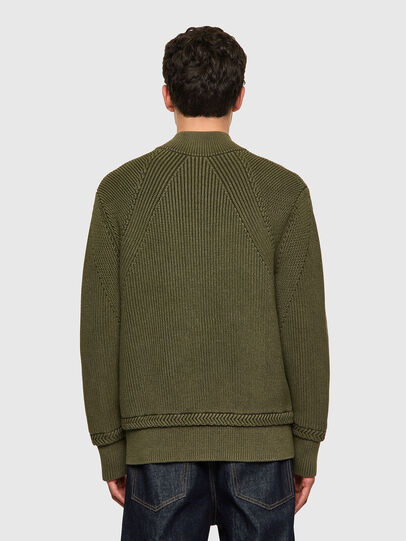Diesel - K-MEXICO, Olive Green - Sweaters - Image 2