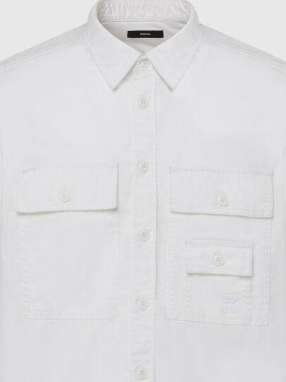 Diesel - S-ALLEN-KA, Blanc - Chemises - Image 3