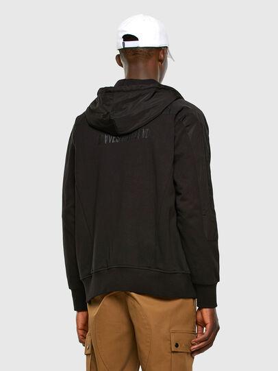 Diesel - S-JAKLER, Black - Sweatshirts - Image 6