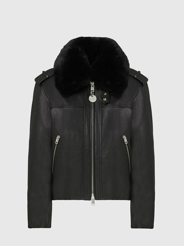 L-LIV, Noir - Vestes de cuir