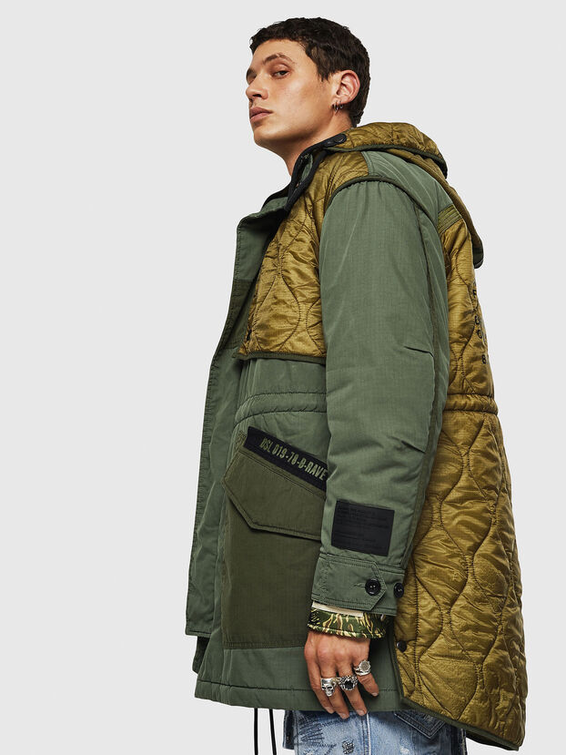 W-KOVIK, Military Green - Winter Jackets