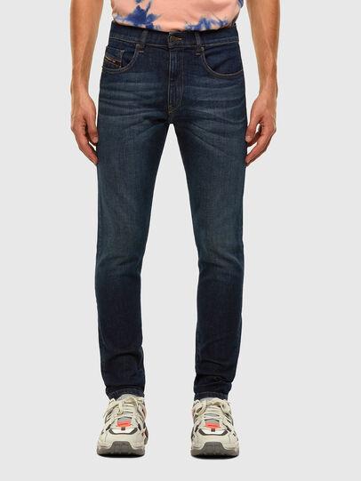 Diesel - D-Strukt 009HN, Bleu Foncé - Jeans - Image 1
