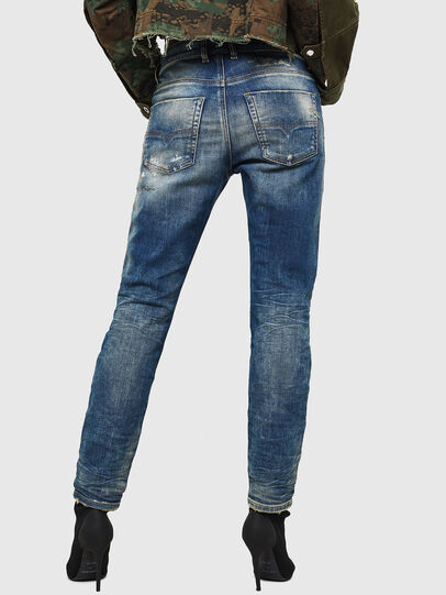 Diesel - Krailey JoggJeans 0870Q, Bleu moyen - Jeans - Image 2