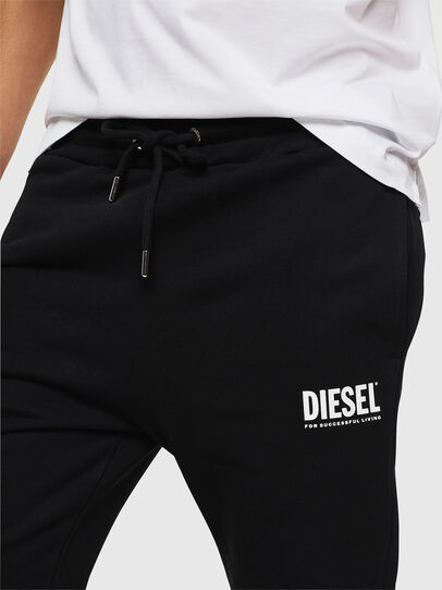 Diesel - P-TARY-LOGO, Black - Pants - Image 3