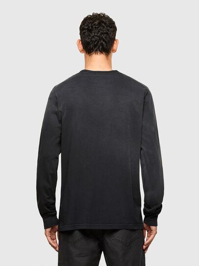 Diesel - T-JUBIND-LS, Noir - T-Shirts - Image 2