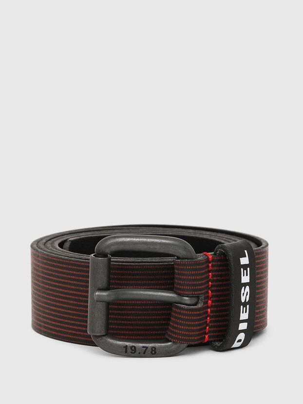 B-CAVA, Black/Red - Belts