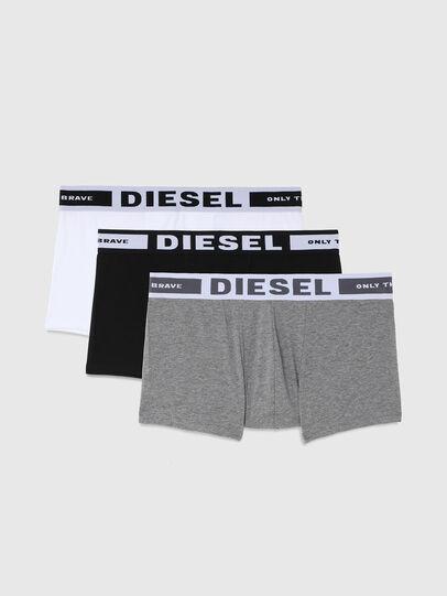 Diesel - UMBX-KORYTHREEPACK, Noir/Gris - Boxeurs courts - Image 1