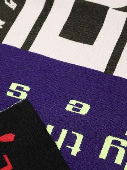 Diesel - K-BRANKO, Noir/Violet - Écharpes - Image 3