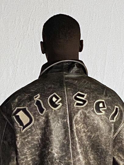 Diesel - DxD-2, Black - Leather jackets - Image 6
