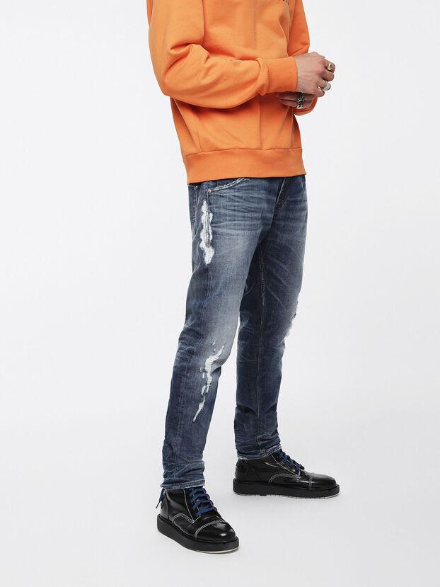 Krooley JoggJeans 084YH, Bleu moyen - Jeans