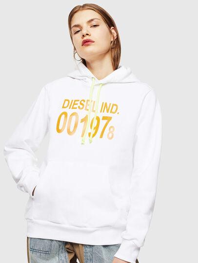 Diesel - S-GIRK-HOOD, Blanc - Pull Cotton - Image 2