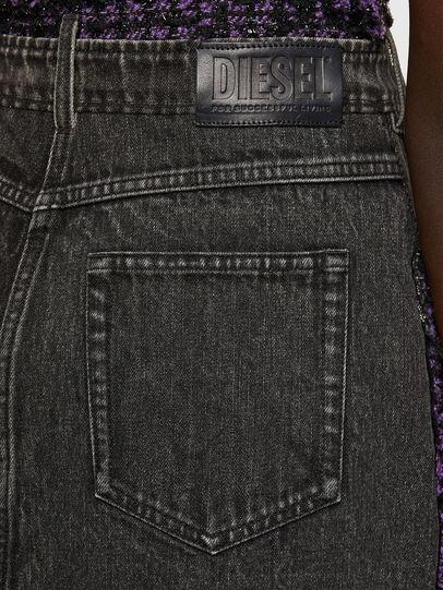 Diesel - D-OLGA, Noir/Violet - Robes - Image 5
