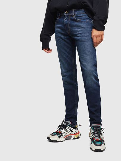 Diesel - Thommer 0096B, Bleu Foncé - Jeans - Image 1