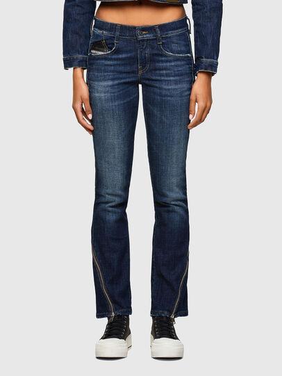 Diesel - D-Ebbey 009SC, Bleu Foncé - Jeans - Image 1