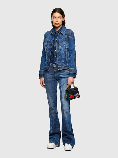 Diesel - DE-RINGY, Bleu Foncé - Chemises en Denim - Image 5