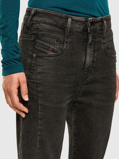 Diesel - FAYZA JoggJeans® 009HM, Noir/Gris foncé - Jeans - Image 3