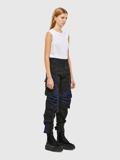 Diesel - D-Kiki JoggJeans® 009KM, Noir/Gris foncé - Jeans - Image 8