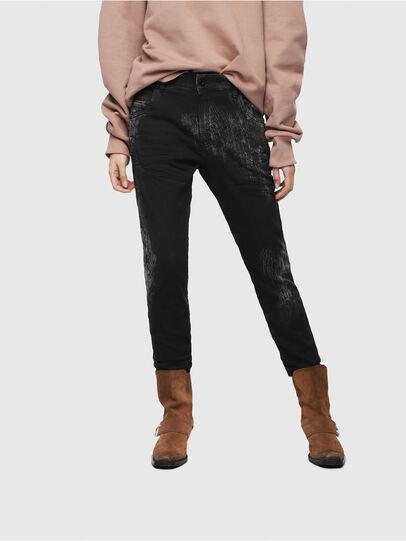 Diesel - Krailey JoggJeans 069DT, Noir/Gris foncé - Jeans - Image 1