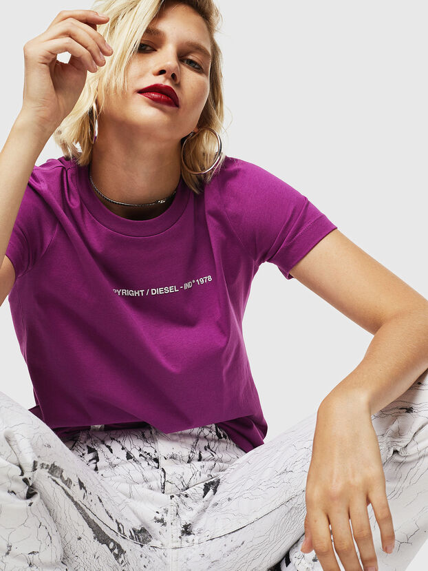 T-SILY-COPY, Dark Violet - T-Shirts